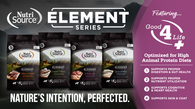 NutriSource Element Series -- Nature's Intention, Perfected.